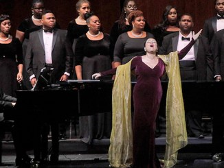 Kathleen Battle performs at the JFK Kennedy Center. (Courtesy photo)
