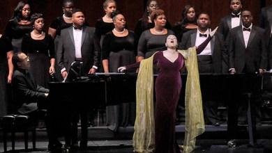 Kathleen Battle performs at the JFK Kennedy Center. (Courtesy photo)