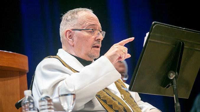 Rev. Jeremiah Wright (Courtesy of Rankin Chapel)