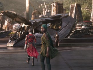 "A scene from Marvel's ""Black Panther"" (Courtesy of Marvel)"