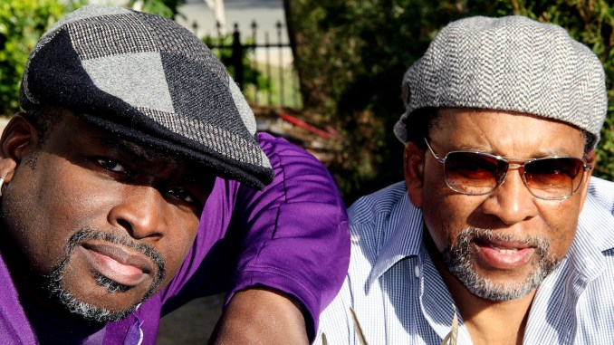 "Artists Larry ""Poncho"" Brown and Charles Bibbs (Courtesy photo)"