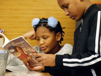 Youths learn about their families' history (Courtesy photo)
