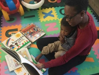 Kia Daniels said the Books from Birth program has certainly benefited her 18-month-old son, Talid, who's been receiving the books since birth. (Courtesy of Kia Daniels via Howard University News Service)
