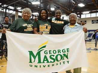 """On """"College Signing Day,"""" PGCPS staff members were encouraged to wear attire or paraphernalia representing their alma mater or favorite college team. (Courtesy of PGCPS)"""
