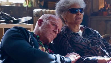 "Ryan Reynolds (left) and Leslie Uggams star in ""Deadpool 2."" (20th Century Fox)"