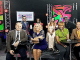 """The hosts of television shows from OCTFME's summer lineup are introduced at a May 23 event. First row, from left: Matt Granato and Cicely Fernandez, co-hosts of """"We Are Washington,"""" Michel Wright and Ferman Patterson, co-hosts of """"The 202."""" Second row, from left: Pedro Biaggi, host of """"Cambios de Vida,"""" Mahogany Lyles, host of """"I Wish You Knew,"""" Britt Waters, host of """"The Sound,"""" and Dion Dove, host of """"Display."""" (Courtesy of OCTFME)"""