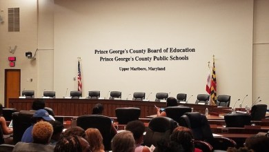 Prince George's County school board holds a meeting at the Sasscer Administration Building in Upper Marlboro on June 28. (William J. Ford/The Washington Informer)