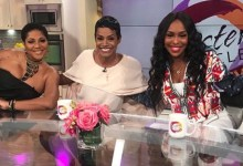 "From left: ""Sister Circle"" co-hosts Trina Braxton, Rashan Ali and Quad Webb-Lunceford (Courtesy photo)"