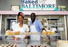April Richardson and Derek Lowery, proprietors of Baked in Baltimore (Courtesy photo)