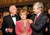 Roger and Vicki Sant with Senator Sheldon Whitehouse