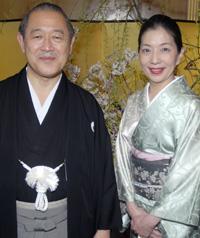 Japanese Ambassador Ichiro and Yoriko Fujisaki