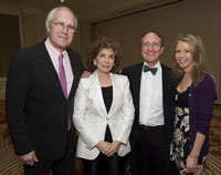 Chevy Chase, Teresa Heinz Kerry, Honoree Tom Lovejoy, and Jayni Chase