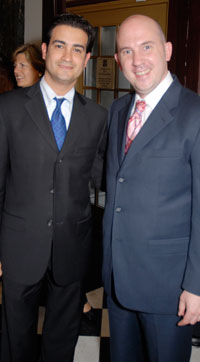 Mario Acosta Velez and Ed Spitzberg
