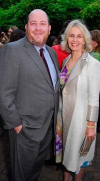 Andrew Schwartz and Sally Quinn