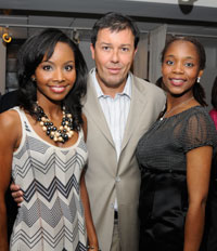 Cynee Simpson, Julian Epstein and Michelle Yankey