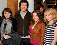 Haley Carter, Alex Clarke, Libby Ellsworth Kash, and Alexandra Verville