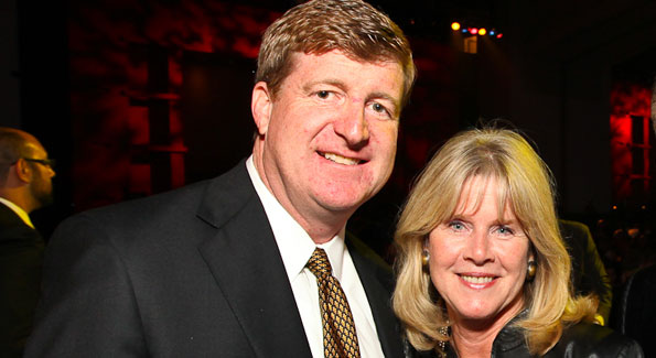 Rep. Patrick Kennedy and Tipper Gore
