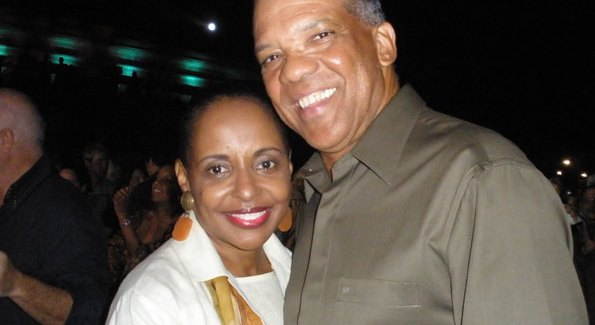 Bermuda Premier Ewart Brown and wife Wanda Henton Brown