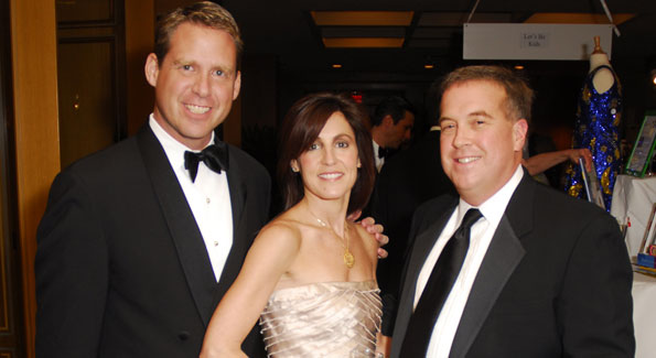 Brent Haber, Jen Haber and Henry O'Connell