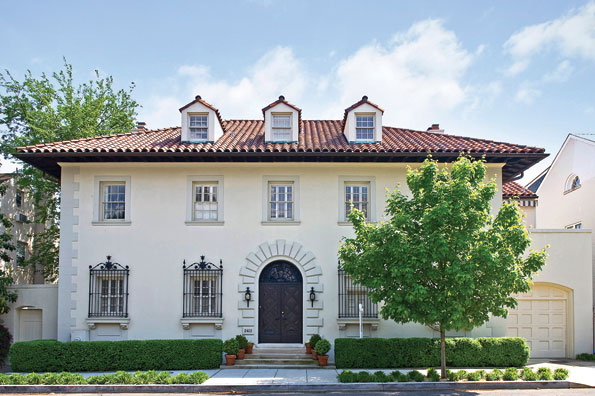 The Italianate-style mansion at 2412 Tracy Place NW, once the home of Robert S. McNamara, recently sold for $6.1 million.