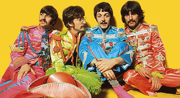 The Beatles' version of the marching band jacket