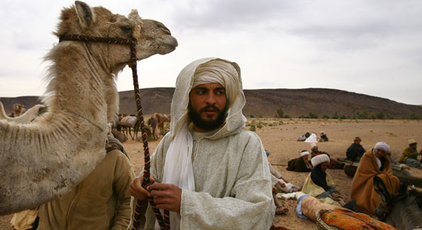 Morocan actor NEED NAME, who played Ibn Battuta passed away soon after film completed.