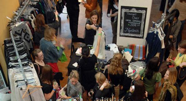 2009 District Sample Sale. (Photo by Abby Greenawalt)