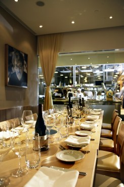 Central's Jean-Louis private dining room.