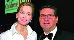 Tanya and Dan Snyder