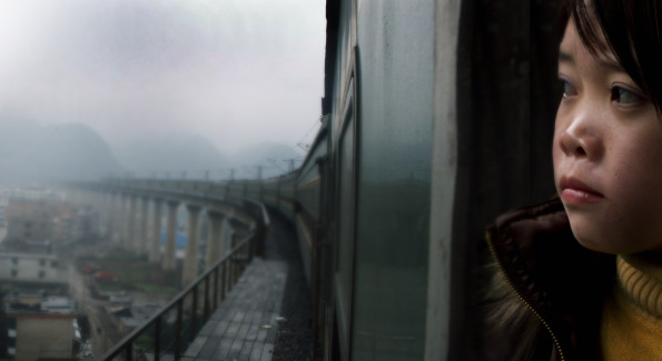 "Film still from ""Last Train Home."" Photo provided by Silvedocs."