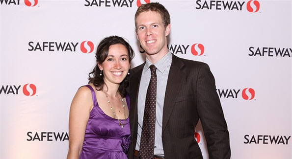 Sarah Meyer Walsh and Stevenson Hockley Walsh IV
