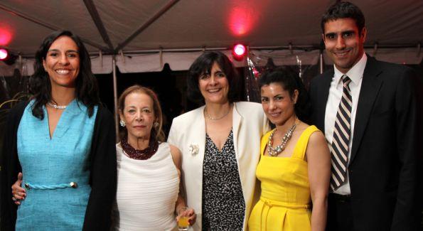 Veronica Valdivieso, Elizabeth Asher, Ambassador Cecilia Valdivieso, Lizzie Asher, Juan Pablo Valdivieso