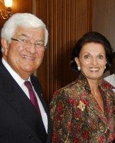 Tom Korologos and Ann Dore McLaughlin Korologos