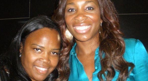 Isha Price and Venus Williams