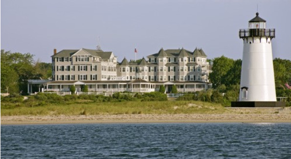 View of Harbor View Hotel & Resort Edgartown Harbor