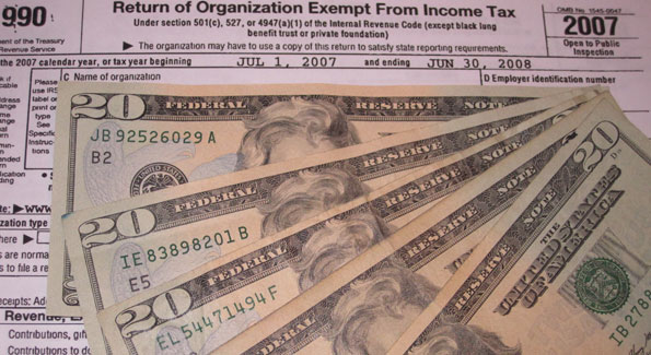 A nonprofit's budget-to-program ratio, obtained from a Form 990, is useful but doesn't always indicate whether a nonprofit is high-impact . (Photo by Jane Hess Collins)