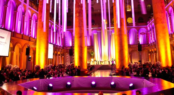 The Charity Works Dream Ball at the National Building Museum. Photo by Tony Powell.
