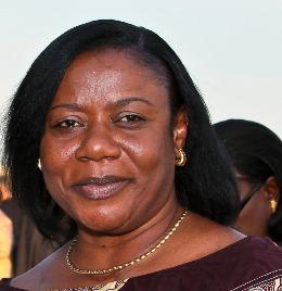 Ambassador Faida Mitifu of the Congo