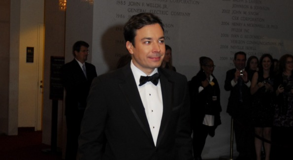 Actor Jimmy Fallon. Photo by Kyle Samperton.