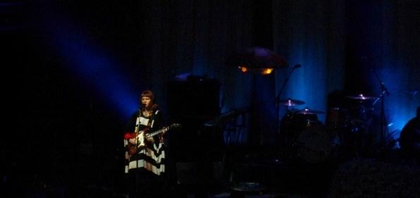 Kate Nash onstage at 9:30 Club.