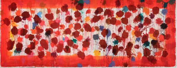 Work by Sir Howard Hodgkin, As Time Goes By. Image courtesy of The Phillips Collection.