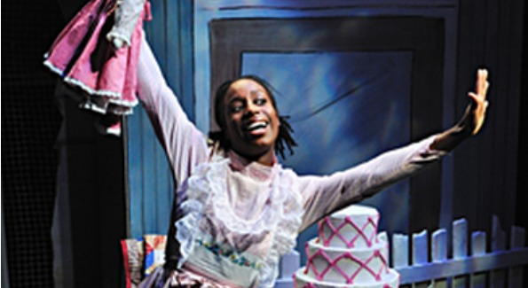 Felicia Curry in Mirandy and Brother Wind. Photo courtesy of Adventure Theatre.