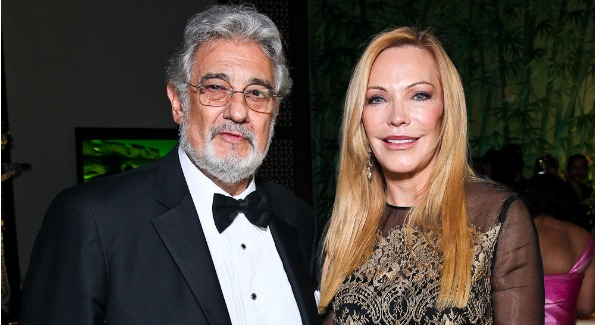 Placido Domingo and Susan Lehrman attending the Opera Ball at the Embassy of China. Photo by Tony Powell.
