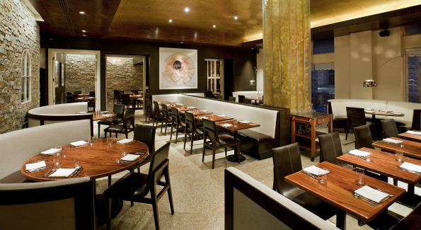 Diners can shave truffles onto whatever dishes they like at this Tuscan-styled trattoria.