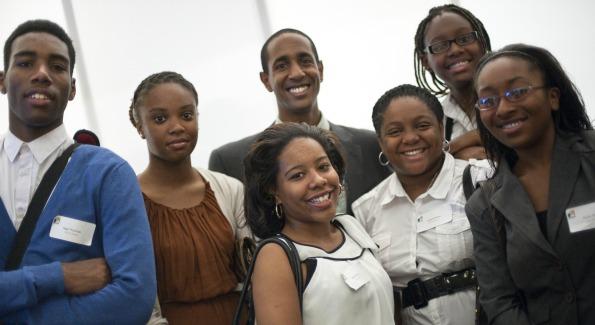 Students of Urban Alliance. (Photo courtesy of Jonathan Ernst Photography)