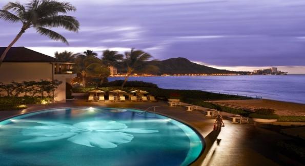 The Halekulani resort is a luxury property on Oahu that has recently undergone a refresh. Photo courtesy of The Halekulani.