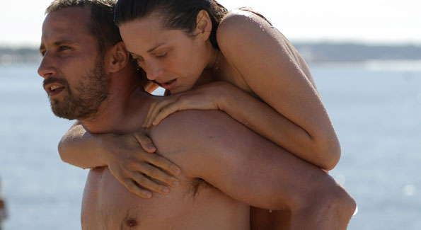 "Marion Cotillard and Armande Verdure in Sony Pictures Classics' ""Rust and Bone"" (Photo by"