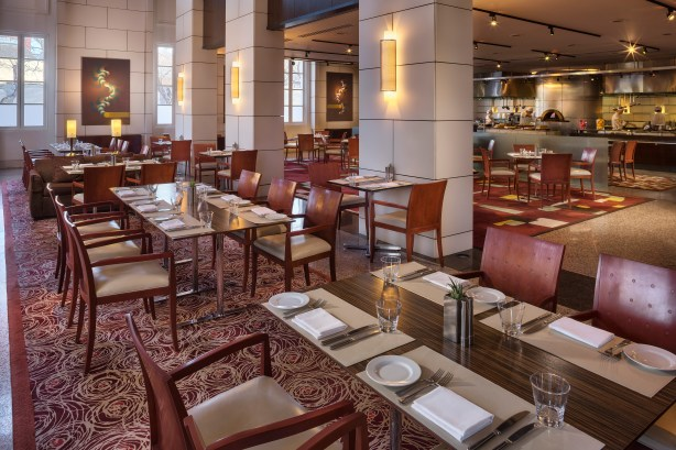 Guests can have breakfast, lunch or dinner at Bistro M at the Park Hyatt Mendoza. Photo courtesy Kelly Magyarics.
