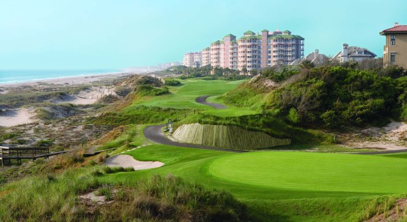 Omni Amelia Island's signature golf course, which seemingly plunges into the ocean. (Courtesy Photo)