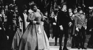 Don Carlo opening night 1970-71 Marttina Arroyo Placido Domingo Robert Merrill Cesare Siepi Melancon photo595